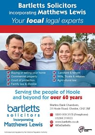 Hoole solicitors Bartletts Solicitors