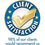 Client Satisfaction logo Bartletts Solicitors Chester and Wrexham